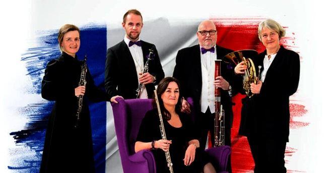 Nordiska Blåsarkvintetten och Sollefteå Vokalensemble i Sollefteå Kyrka