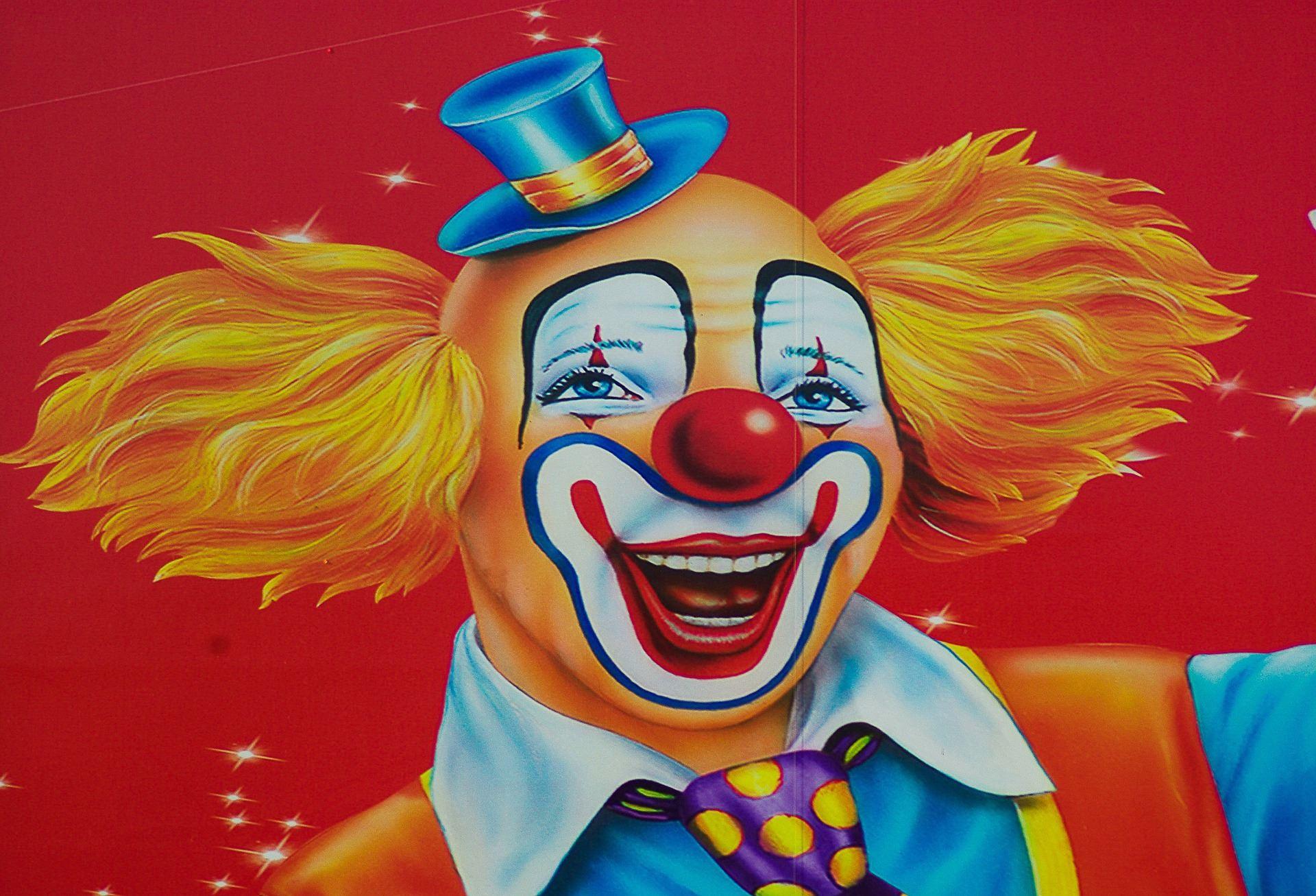 Clownen Kokobello på Coop Västervik