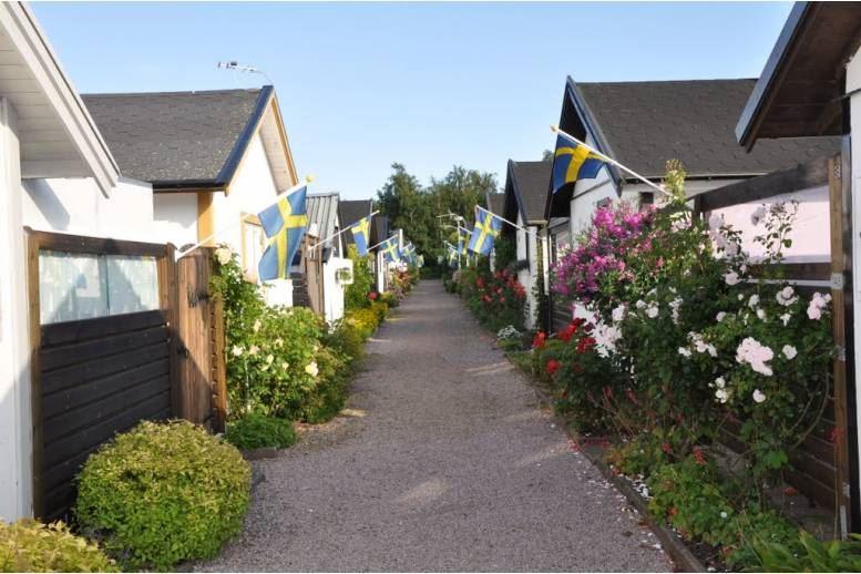 Halmstad - Stuga i Tyluddensfritidsby fritidsby