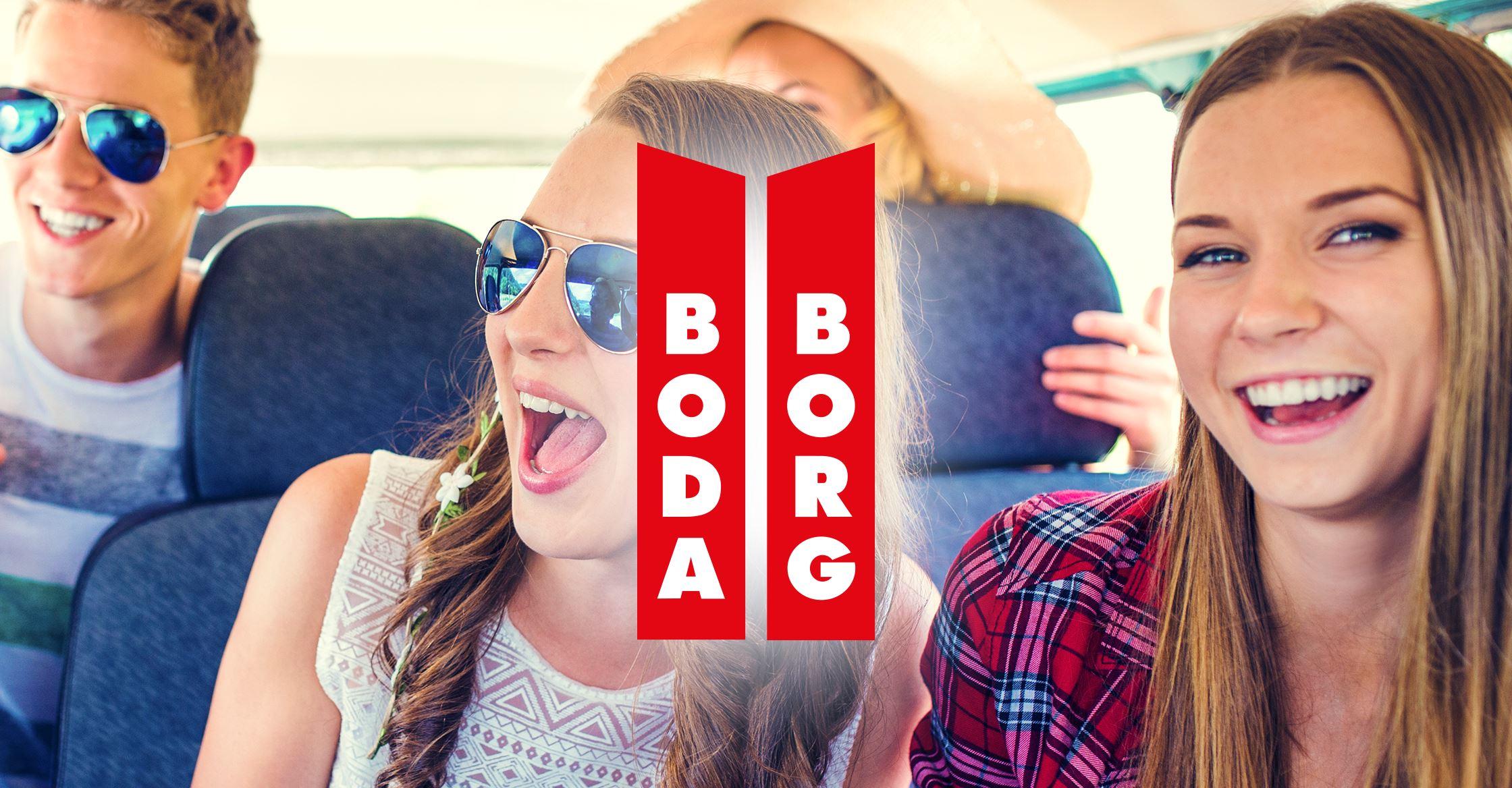 Entrébiljett - Boda Borg