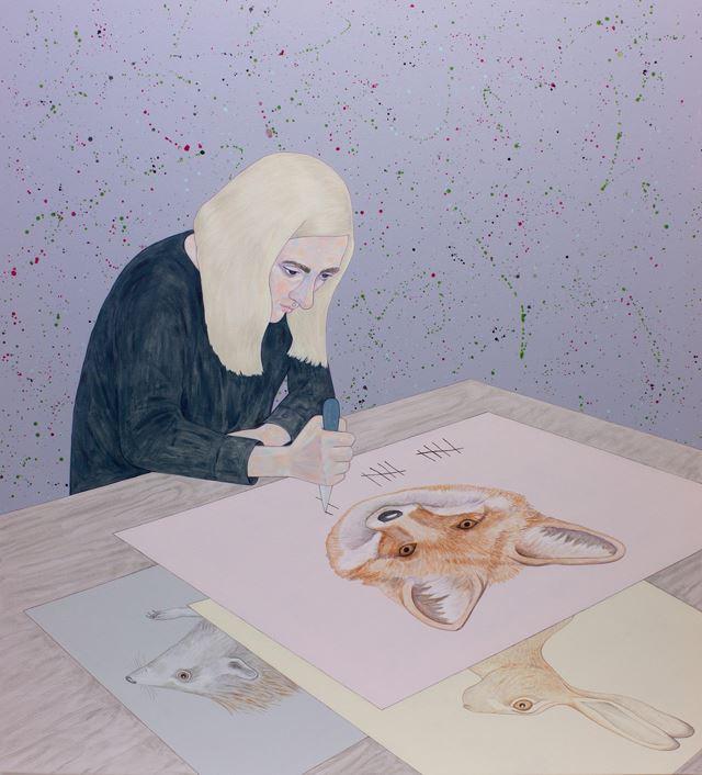 """Utställningen """"Rörelsen"""" i Kringlans Konstfönster"""