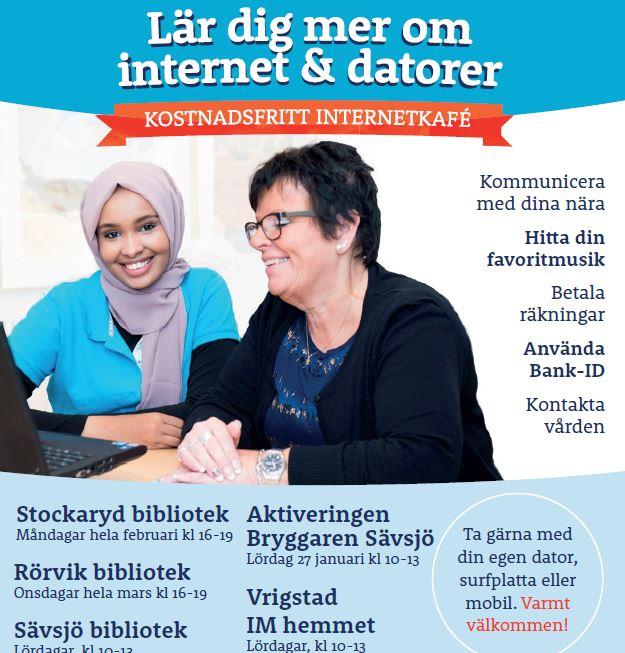 Lär dig mer om internet och datorer
