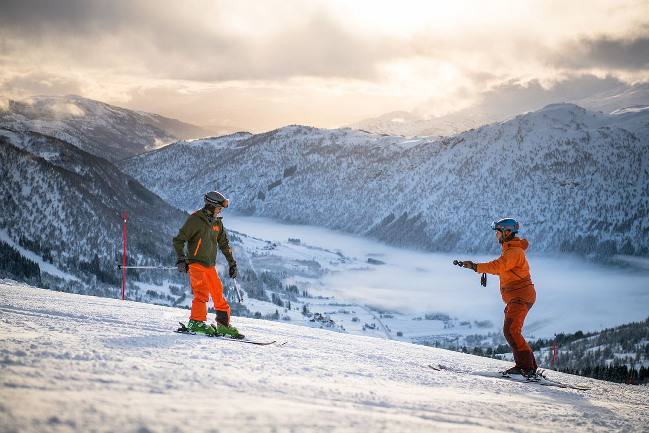 Sverre Hjørnevik - 18, On the slopes in Myrkdalen