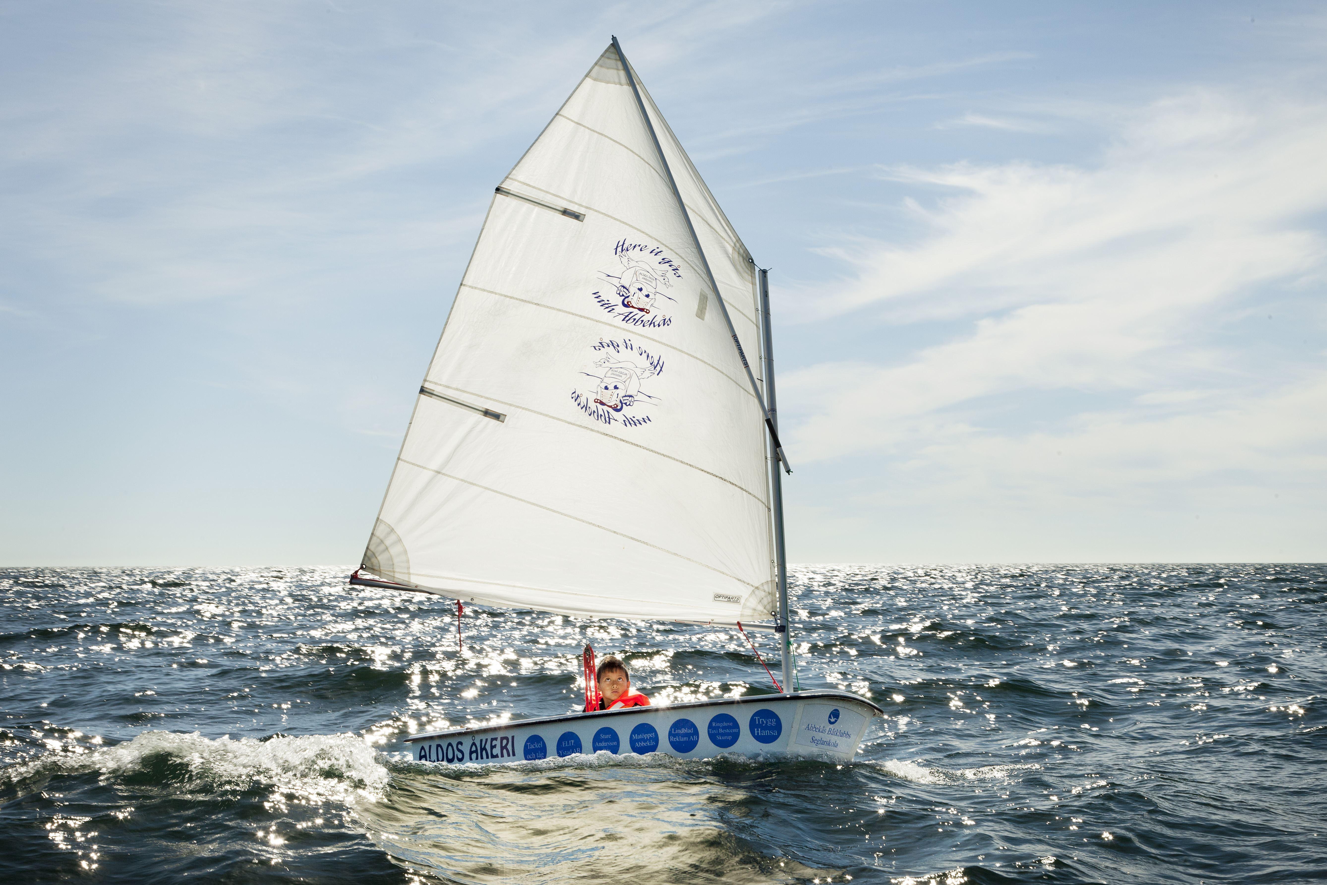 Kenneth Hellman,  ABBEKÅS seglingskurser 2018