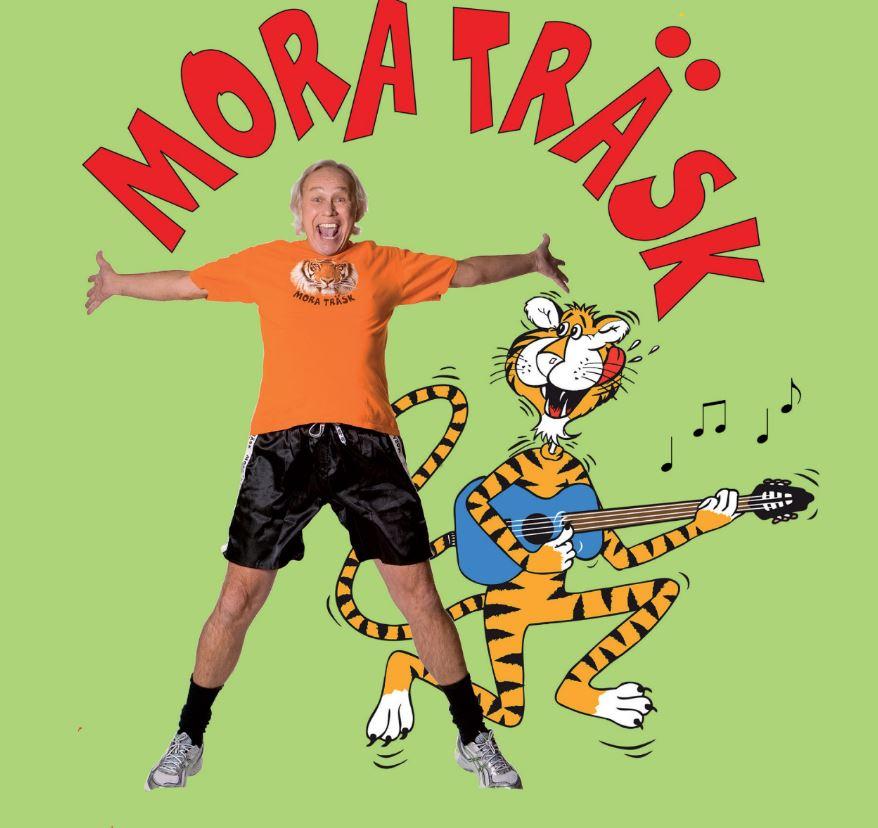© Copy: moraträsk, Bild på tiger som spelar gitarr