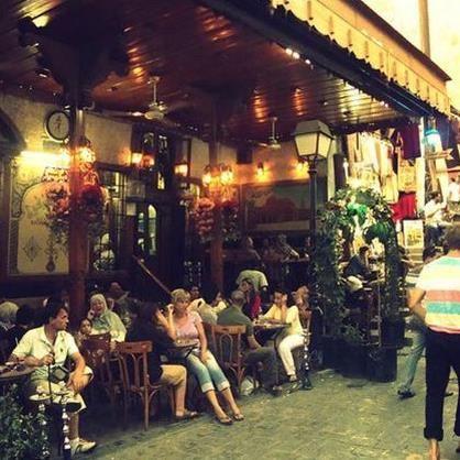 Onsdagslunch: Från Café Dahne till Nofeats i Damaskus
