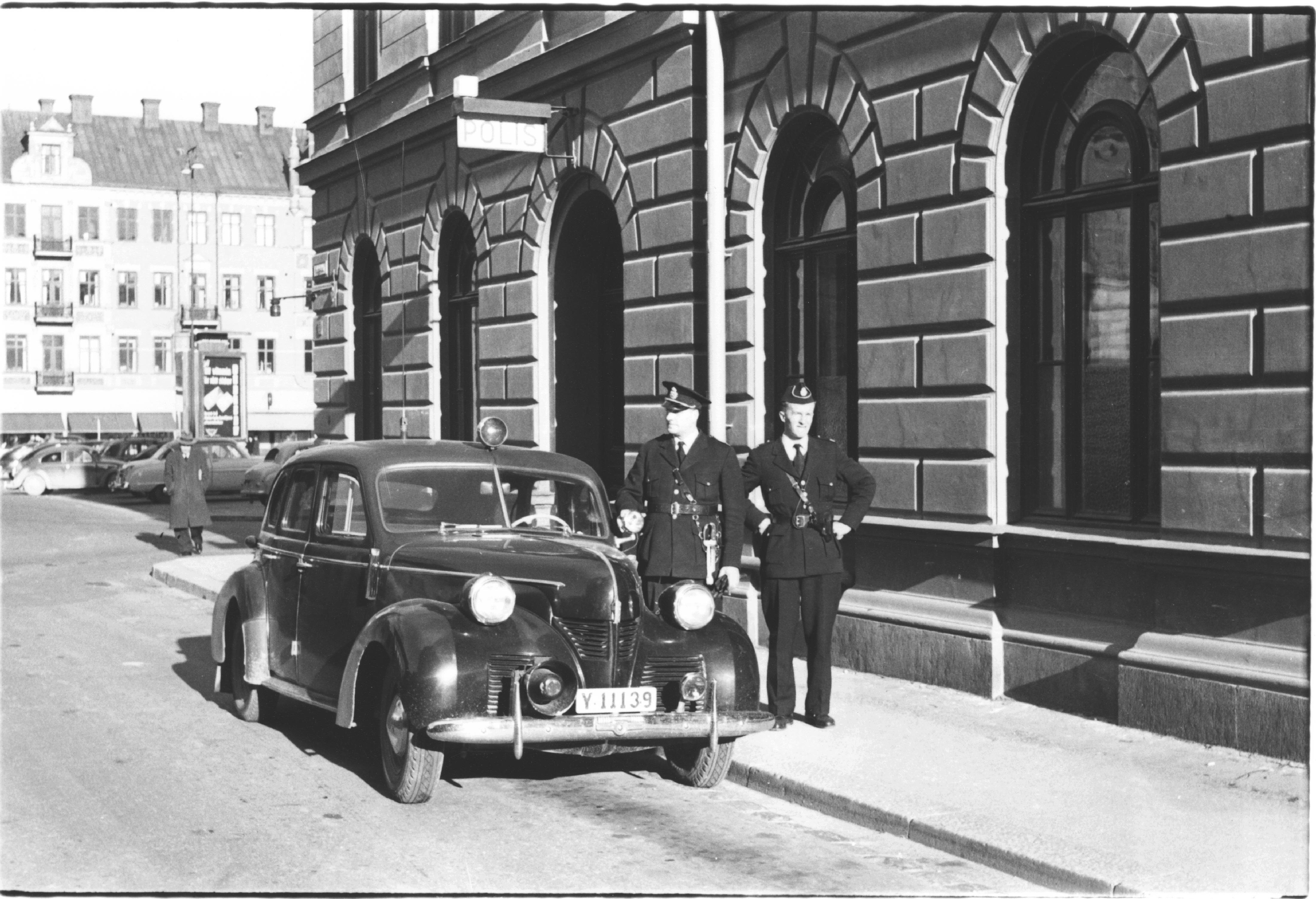 Fredagsseminarium- Stadshusets polishistoria