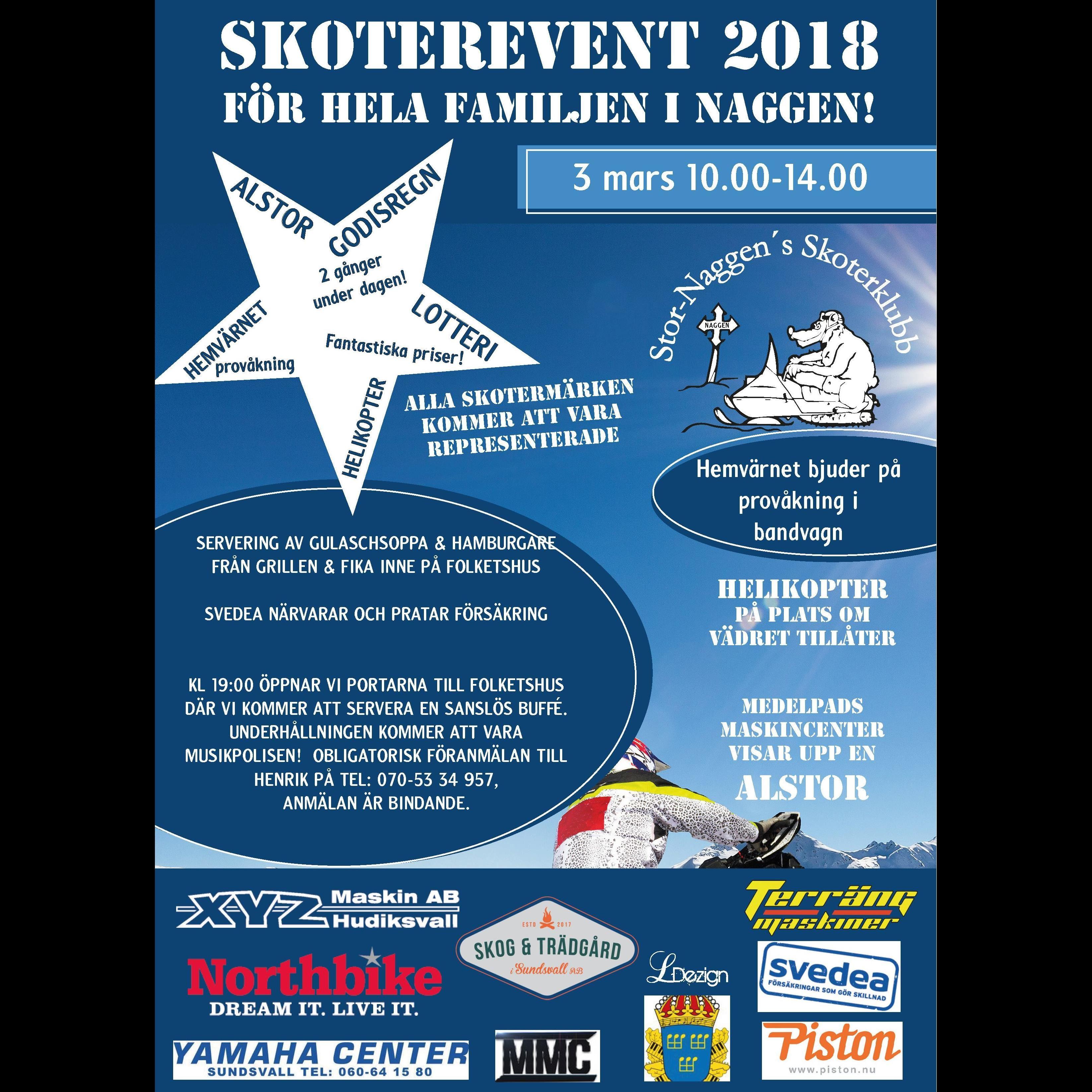 Skoterevent 2018, Naggen