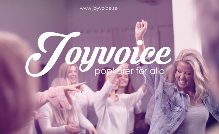 © Copy: Joyvoice, Bild  sjungande kör