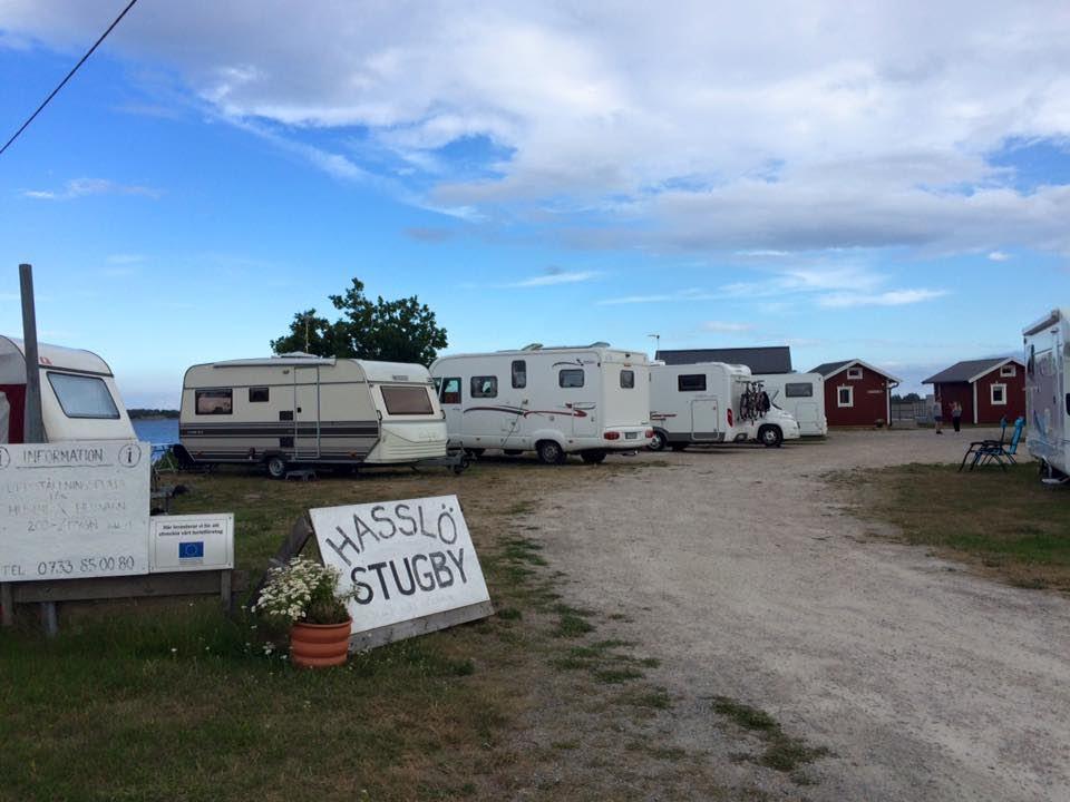 Ställplats - Hasslö Stugby