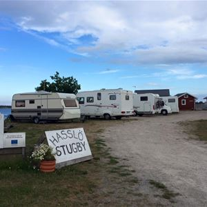 RV parking - Hasslö Stugby