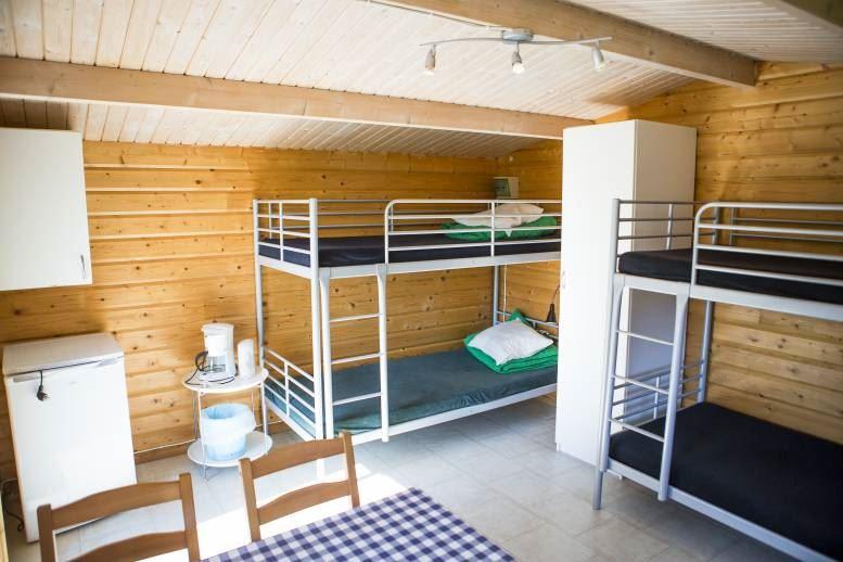 Fjälkinge - Camping cabins at Ivö Camping