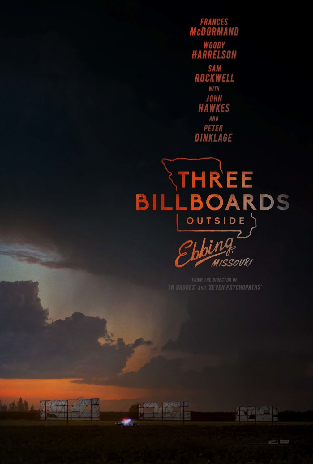 Bio: Three Billboards Outside Ebbing, Missouri