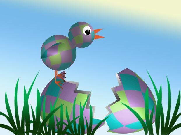 Påskharens äggjakt