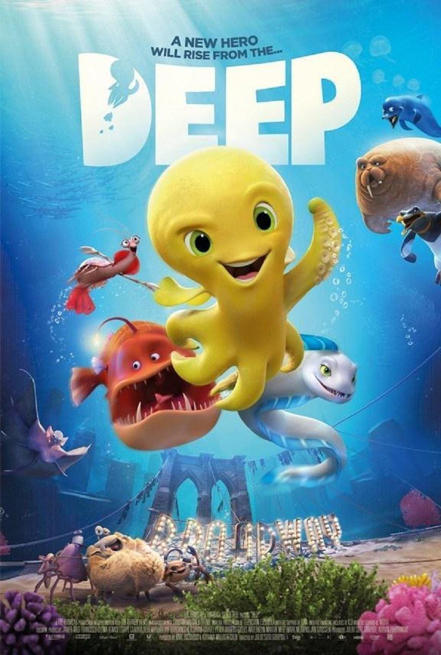 Filmaffisch för filmen Deep