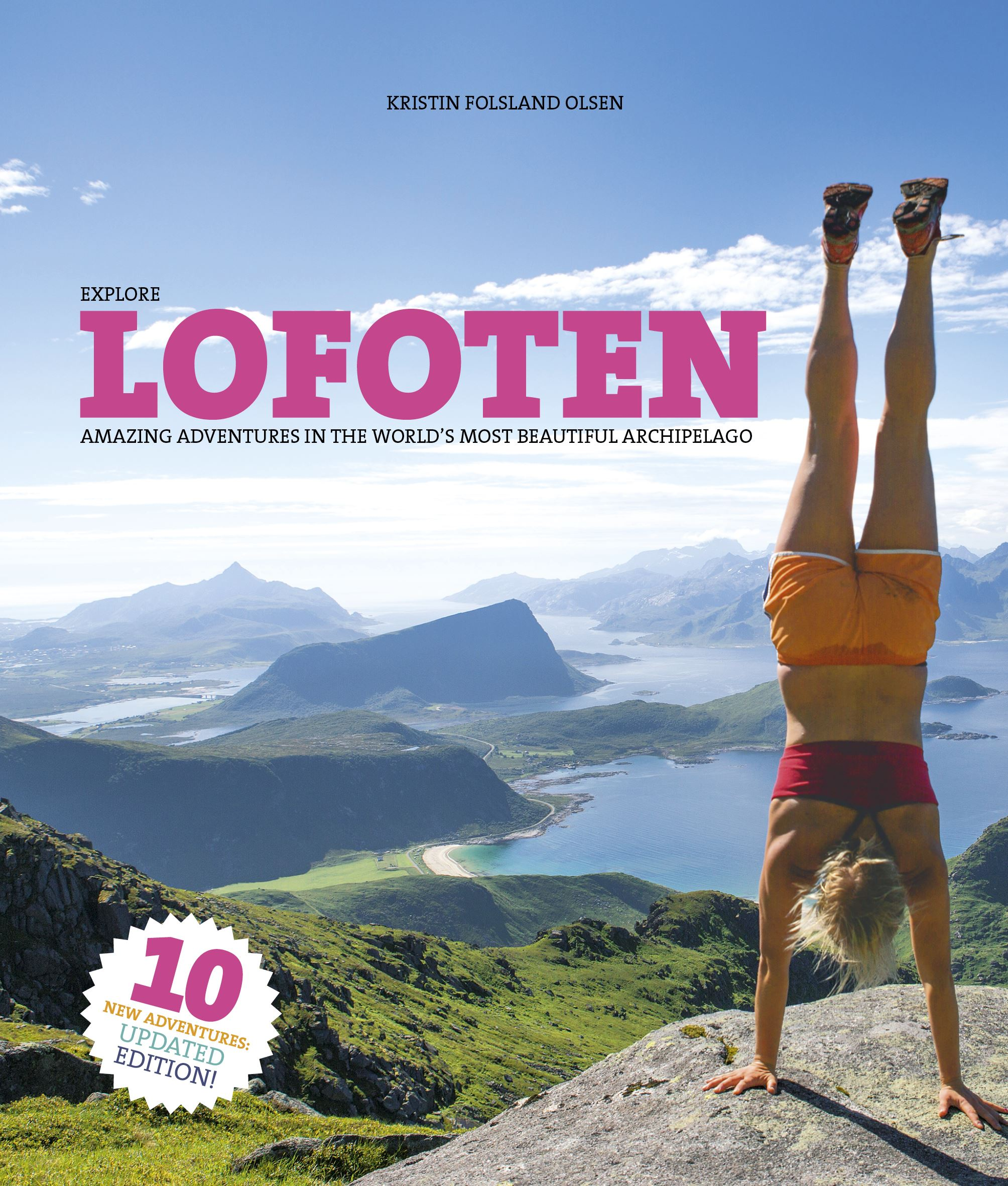 Turguide Lofoten-10 nye turer (engelsk versjon)