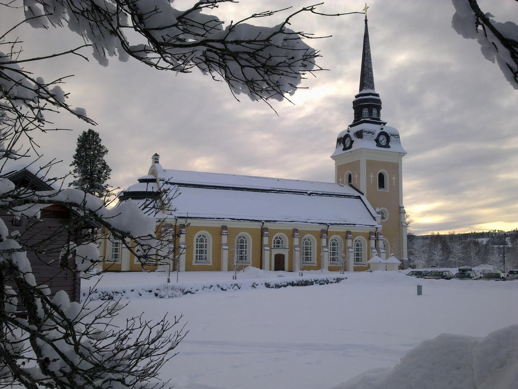 Vasaloppsinvigning i Älvdalens kyrka