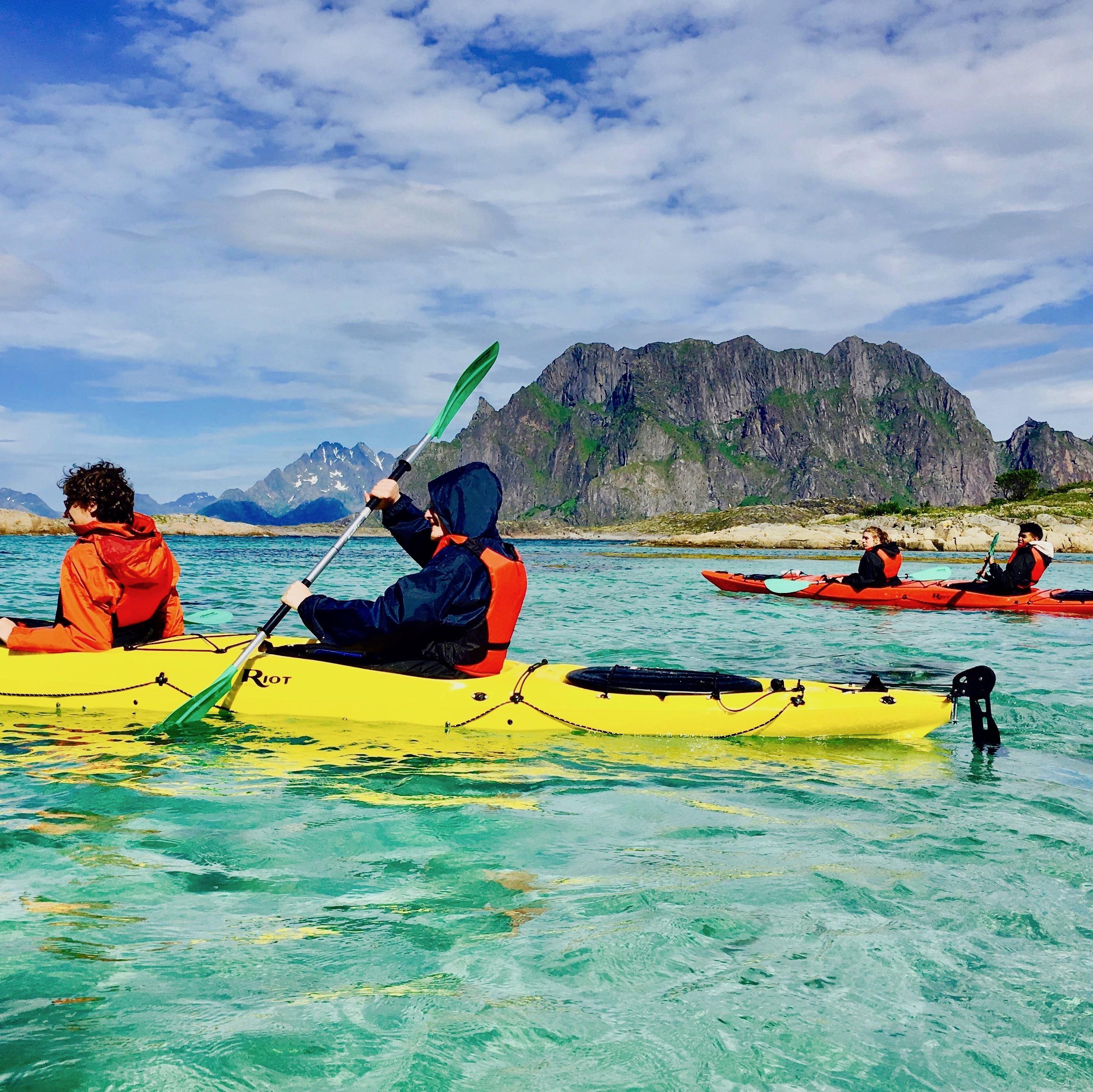 Trollfjord Cruise & Kajakk Tur