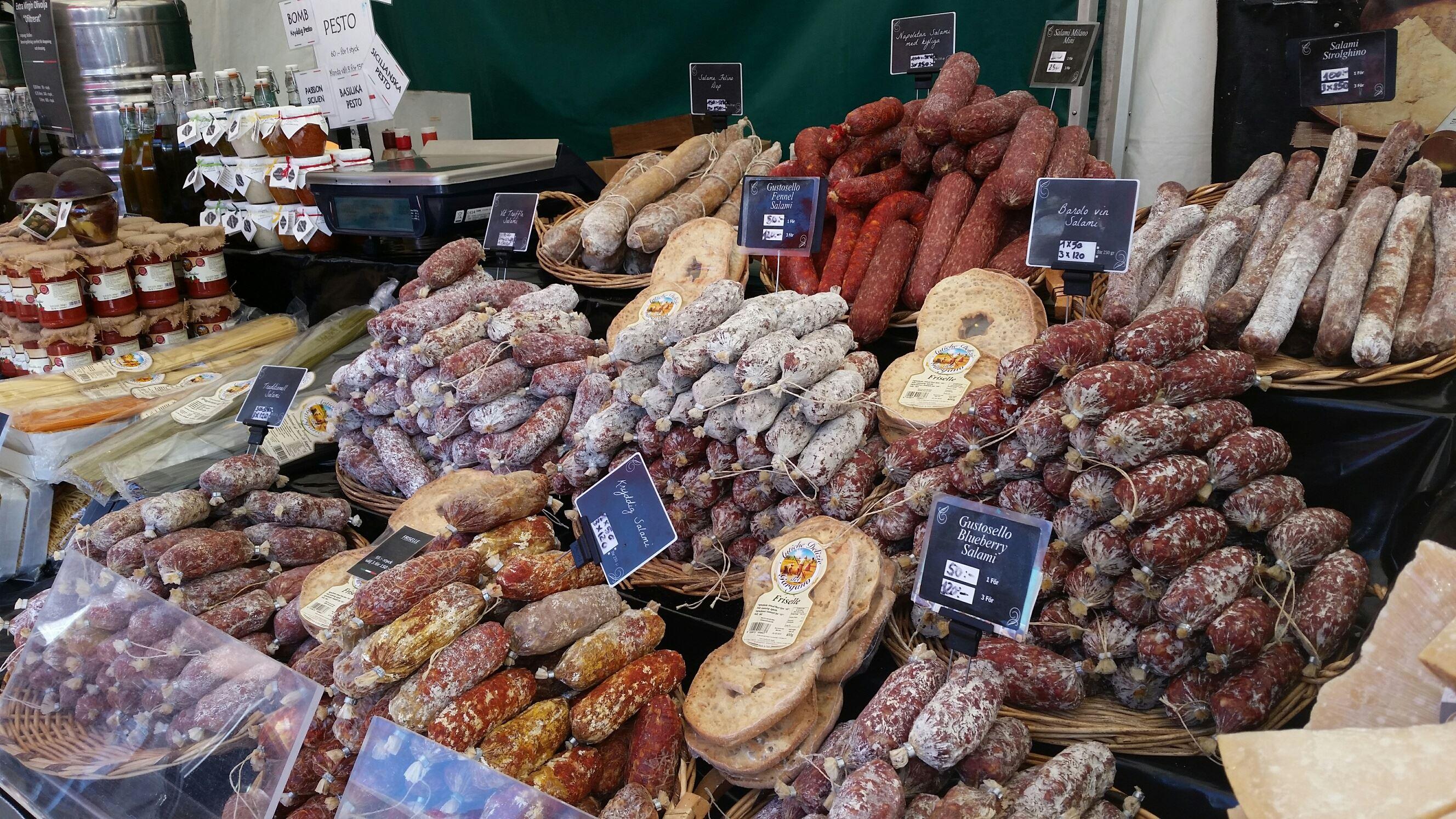 Internationell matmarknad
