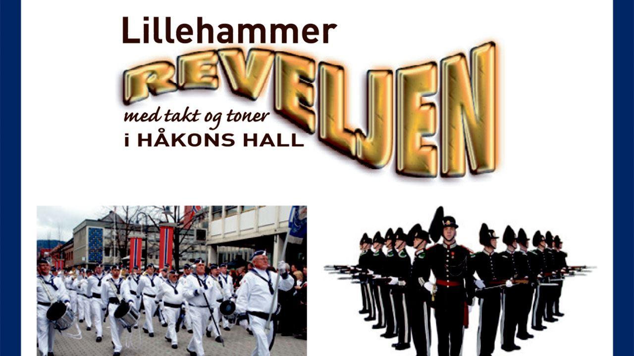 Lillehammer Reveljen i takt og tone i Håkons hall.