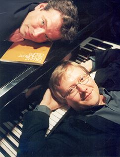 Olle Persson, sång och Mats Jansson, piano