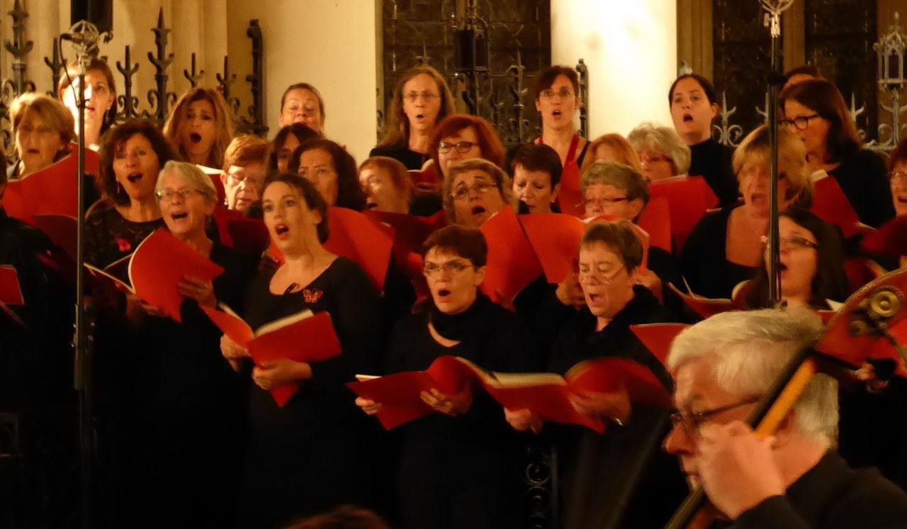 A l'Unisson : 100 choristes en concert pour la recherche médicale