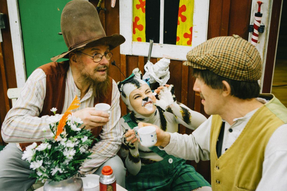 Barnteater - Pettson & Findus