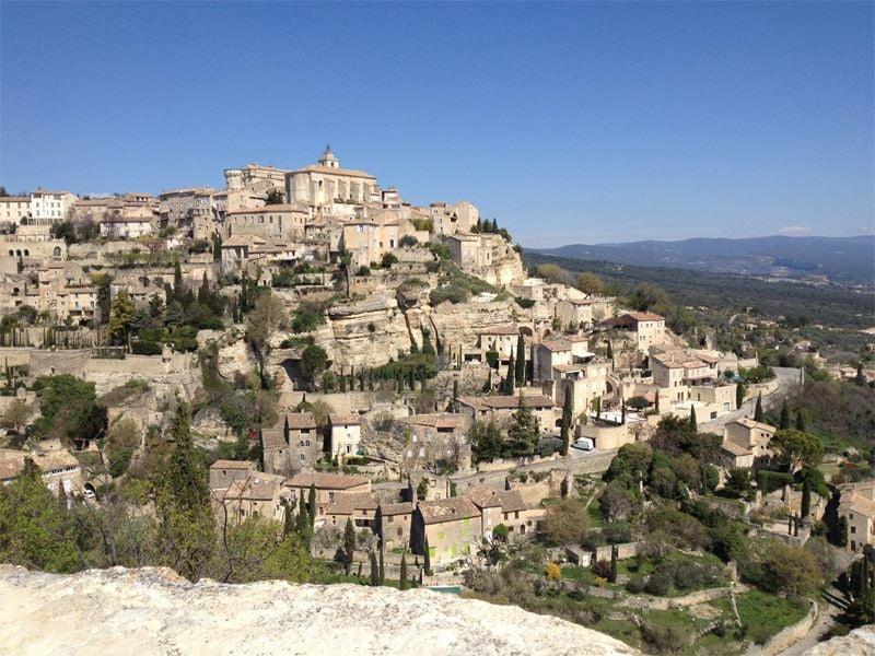 Avignon et les villages du Luberon, Isle sur la Sorgues, Gordes et Roussillon
