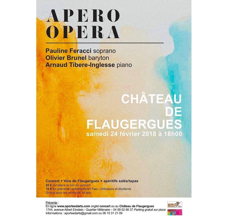 A Portée d'Arts : Apéro-Opéra à Flaugergues