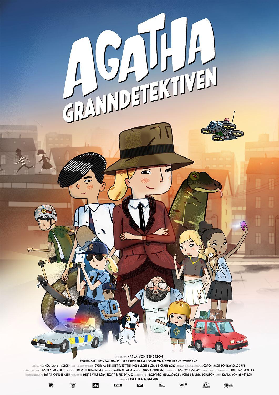 Sportlovsbio: Agatha - Granndetektiven