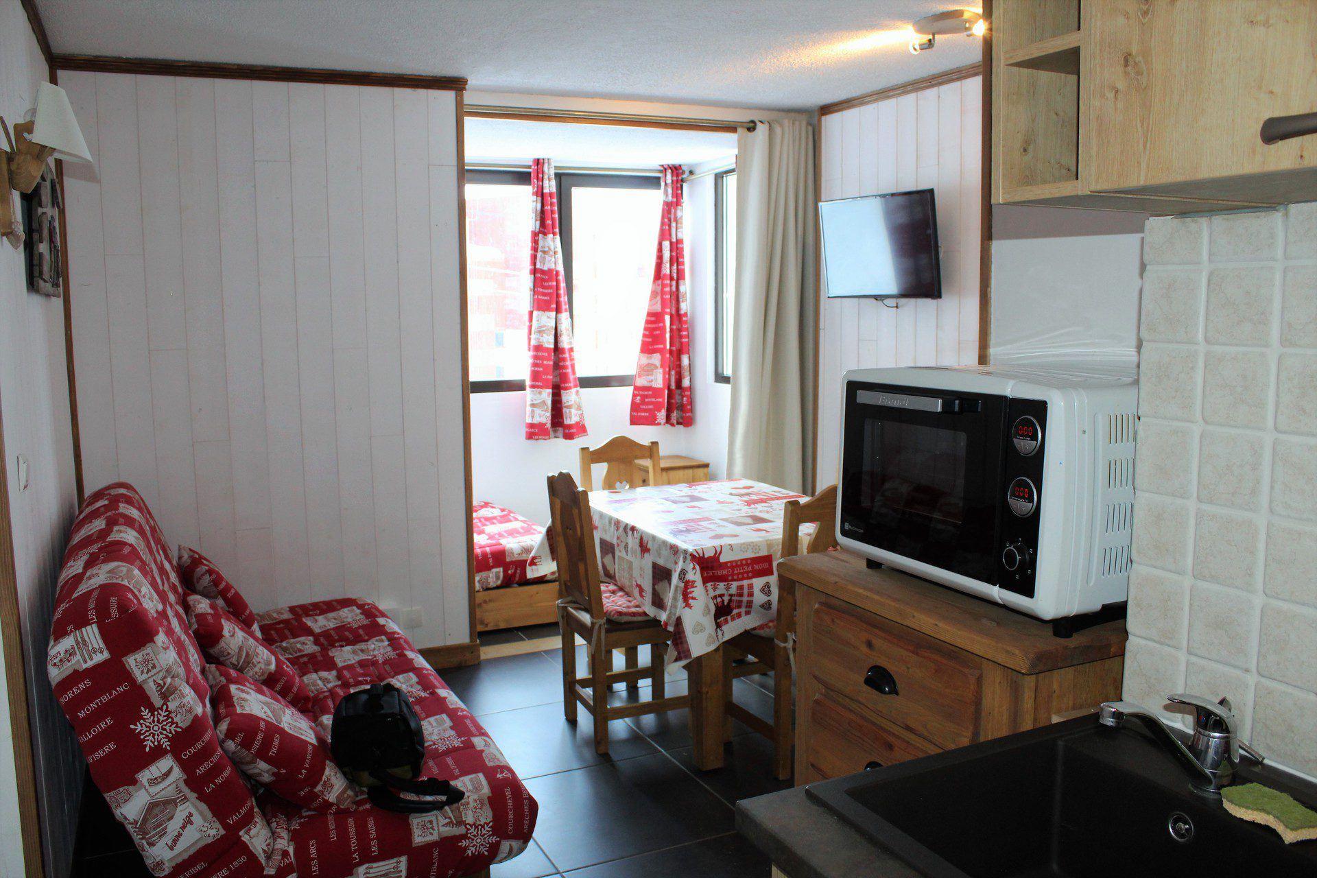 2 Room 4 Pers ski-in ski-out / LE SORBIER 203