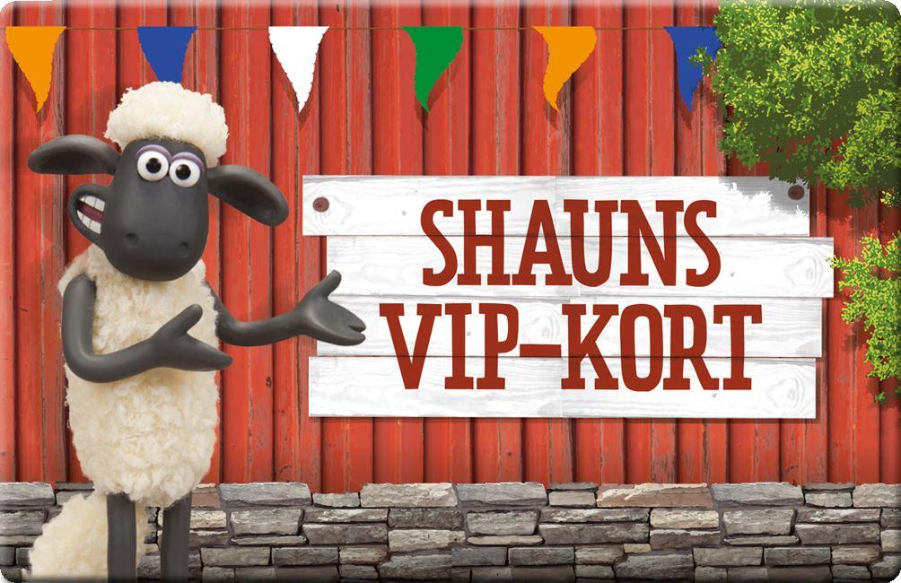 Shauns VIP-Kort 2018