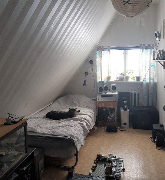 Vansbrosimningen. Privatrum V100, Saltviksvägen, Vansbro