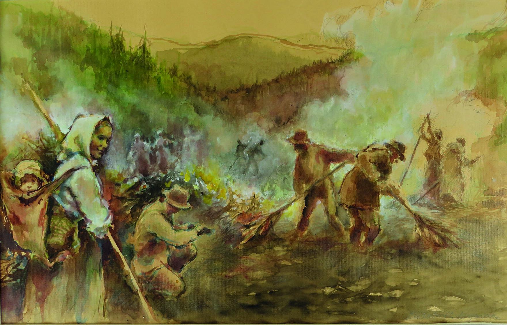 Skogsfinnarna - en del av Sveriges historia