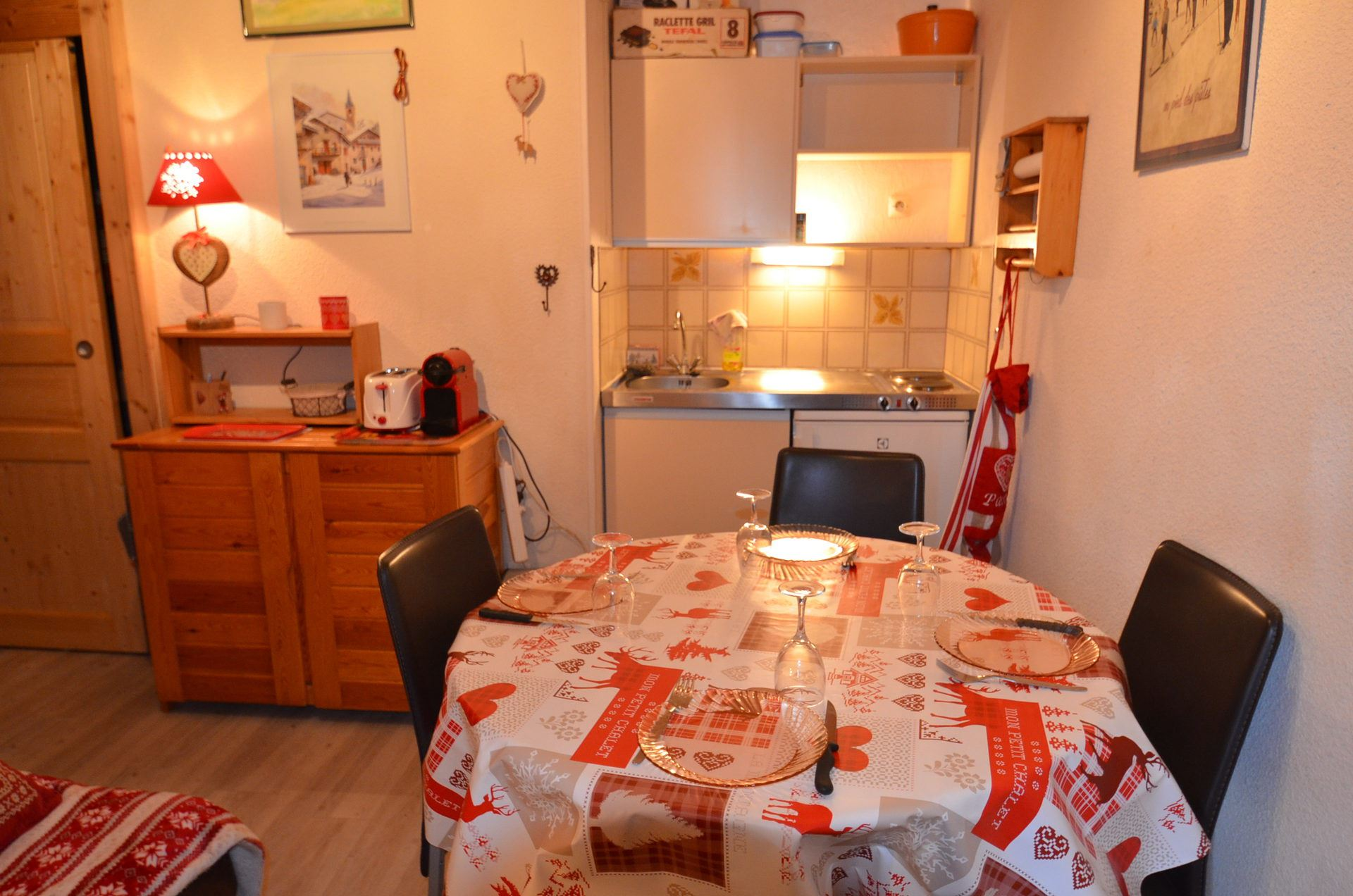 2 Rooms 4 Pers 200m from the slopes / ARGOUSIER 22