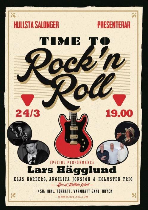 Hullsta Salonger: Time to rock 'n roll