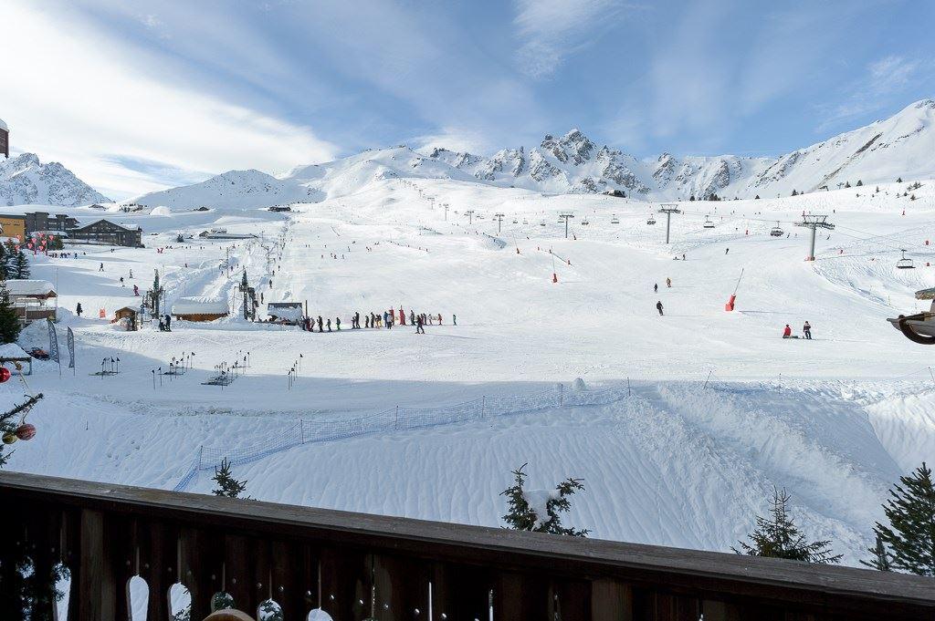 3 pièces duplex 6 personnes skis aux pieds / Balcon de Pralong