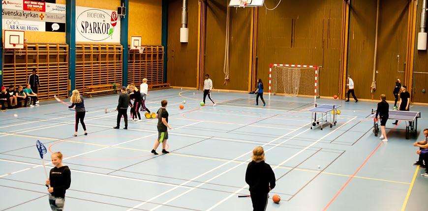 Sportlov med Hofors Kommun Fritid  - Öppen idrottshall