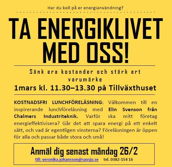 Ta energiklivet med oss
