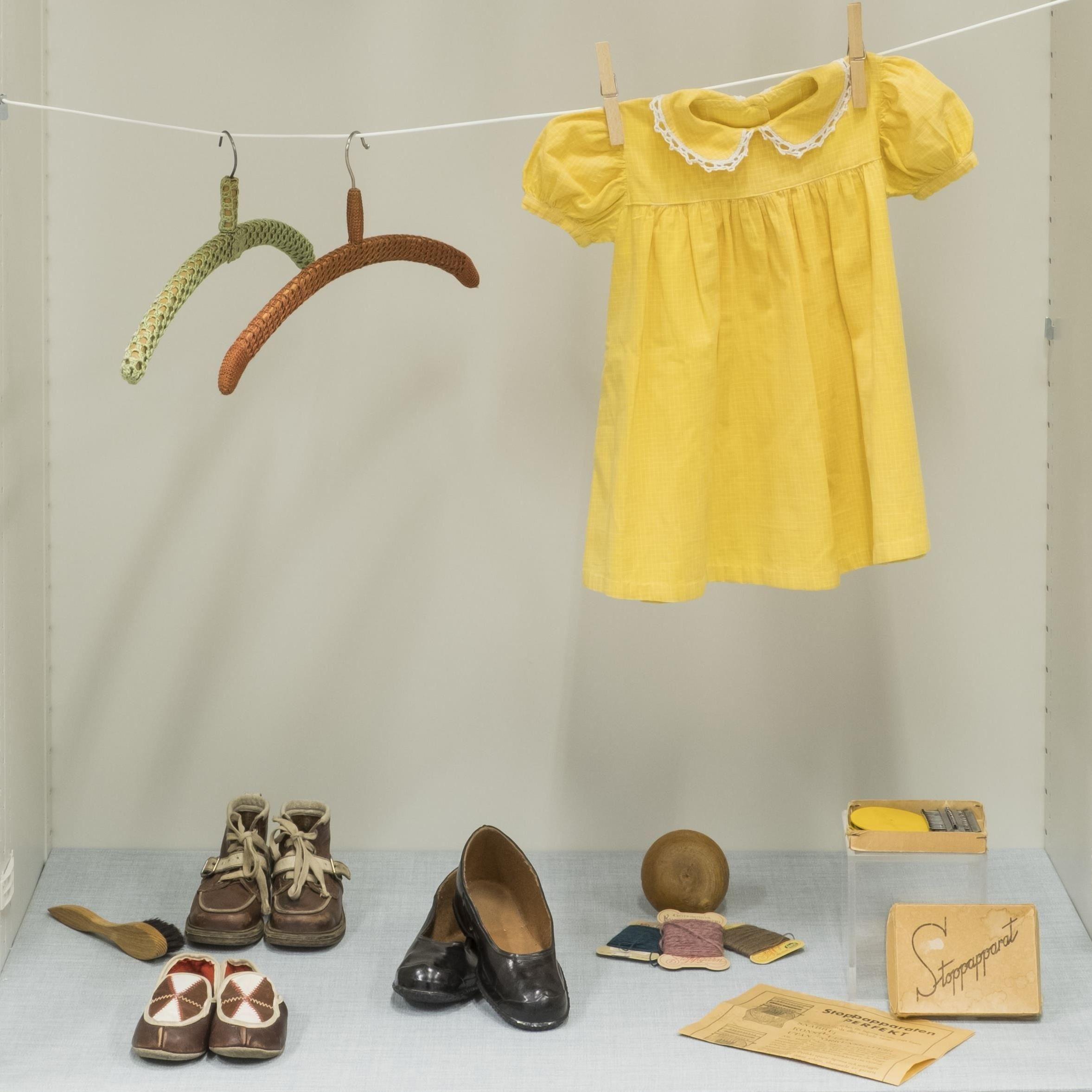 David Schreiner, Sundsvalls museum, Barnkläder