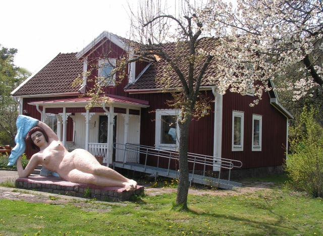 Påskmarknad på Källströmsgården i Påskallavik