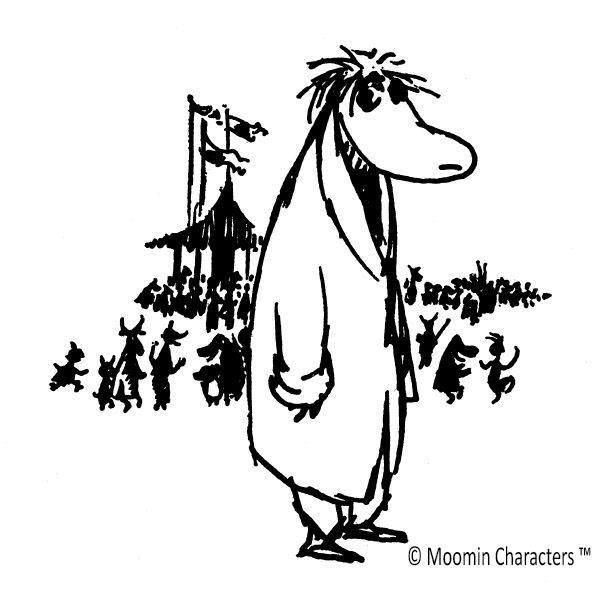 © Moomin Characters, Hemulen som älskade tystnad