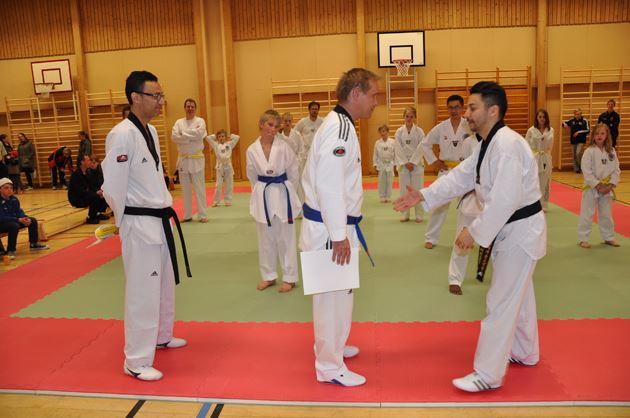 Kom och se matchträning i Taekwondo