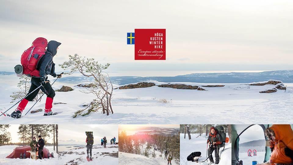 Höga Kusten Winter Hike
