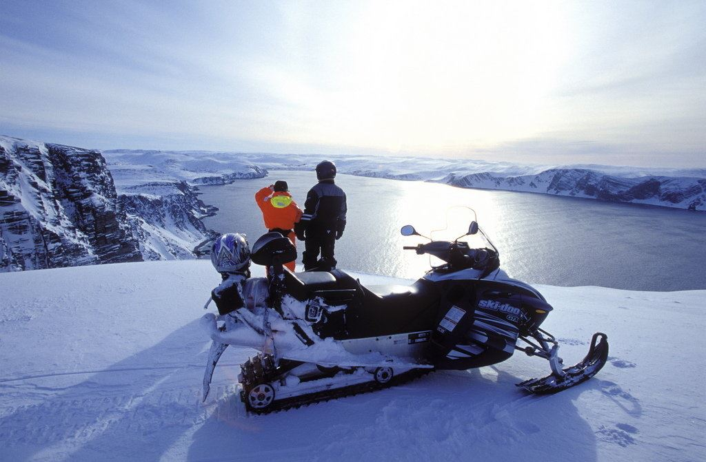 THE ICONIC NORTH CAPE BY SNOWMOBILE