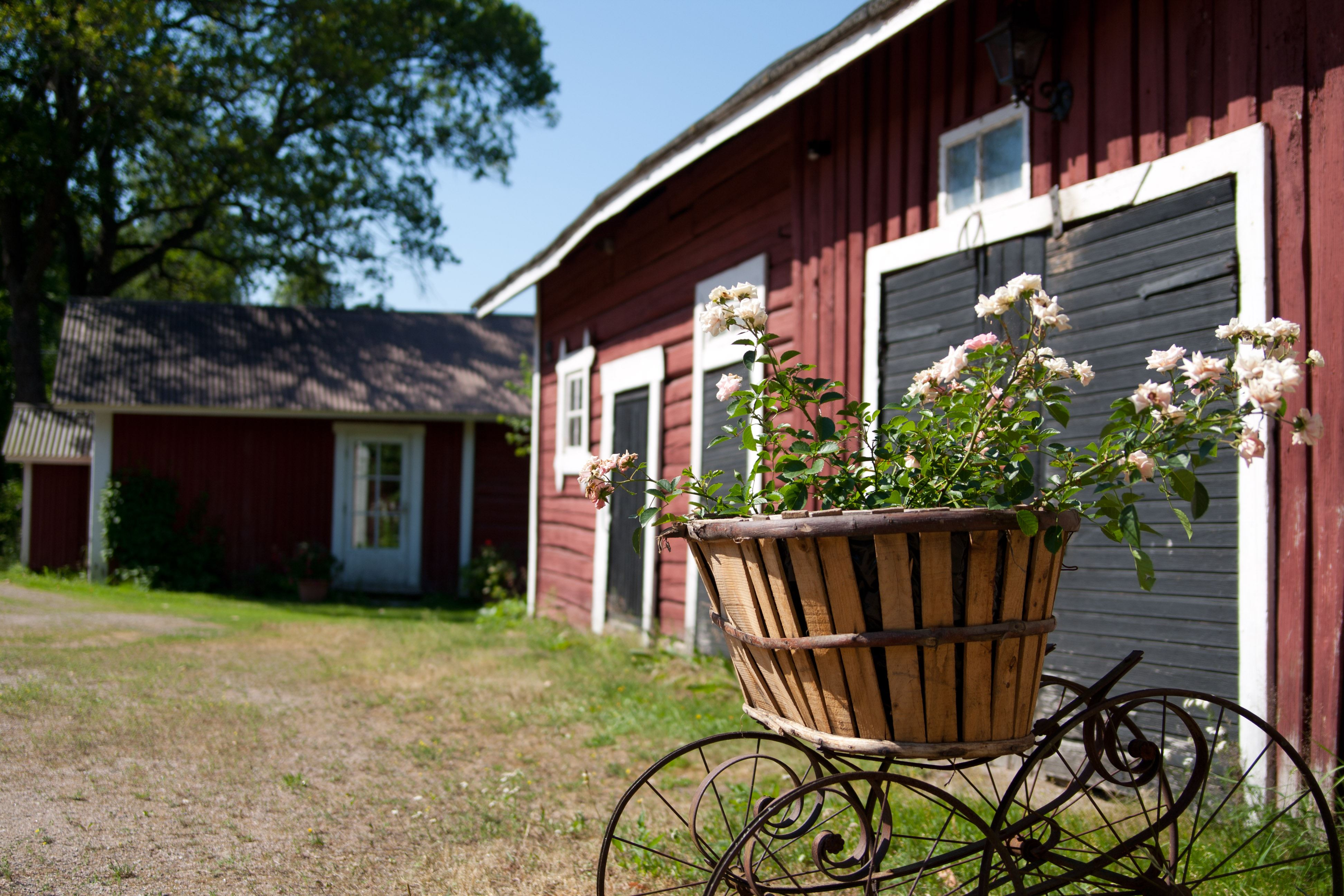 Historical Hollola Church Village