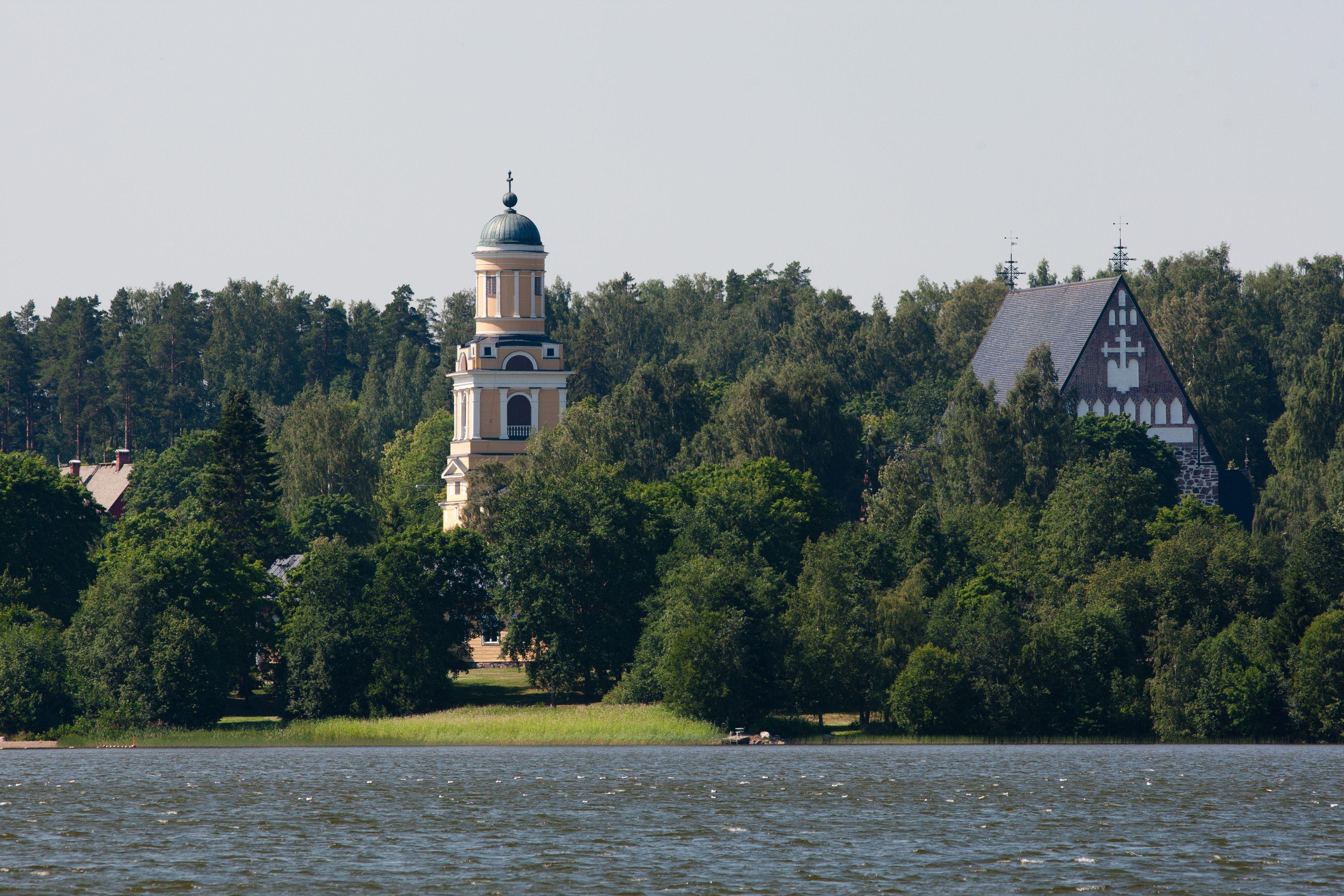 Historiallinen Hollolan kirkonkylä