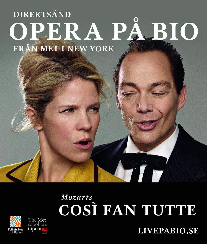Metropolitanoperan ger Così Fan Tutte