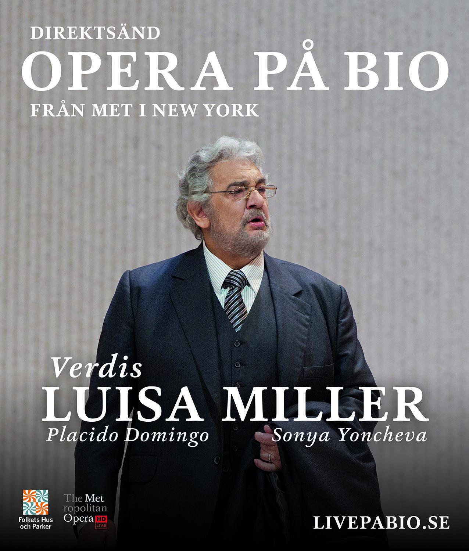 Metropolitanoperan ger Luisa Miller