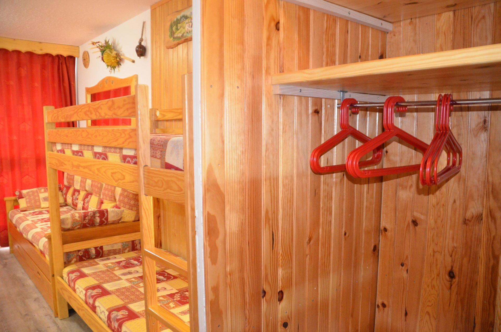 3 Pers Studio ski-in ski-out / CHERFERIE 805